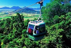 Skyrail, near Cairns Queensland - one of the top places to visit in Queensland